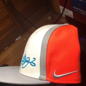 Nike Accessories - New Nike Lebron James official hat /Coral&Blue